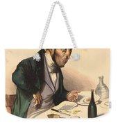 La Carte A Payer Weekender Tote Bag