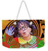 La Chilindrina In A Spin Weekender Tote Bag