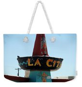 La Cita In Tucumcari On Route 66 Nm Weekender Tote Bag