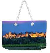 La Cite Carcassonne Weekender Tote Bag by Brian Jannsen