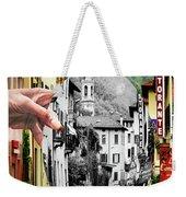 La Comacina Ristorante-colonno, Ital Weekender Tote Bag
