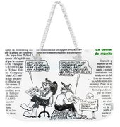 La Demarche De Monitoring Weekender Tote Bag
