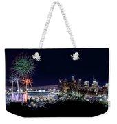 La Dodger Fireworks Weekender Tote Bag