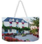 La Gacilly, Morbihan, Brittany, France, Town Hall Painting Weekender Tote Bag