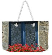 La Gacilly, Morbihan, Brittany, France, Window Weekender Tote Bag