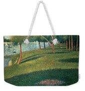 La Grande Jatte Weekender Tote Bag by Georges Pierre Seurat