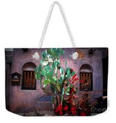 La Hacienda In Old Tuscon Az Weekender Tote Bag by Susanne Van Hulst
