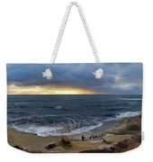 La Jolla Shores Beach Panorama Weekender Tote Bag