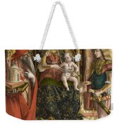 La Madonna Della Rondine The Madonna Of The Swallow Weekender Tote Bag