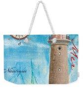 La Mer Weekender Tote Bag by Debbie DeWitt