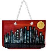 L.a. Moon Weekender Tote Bag