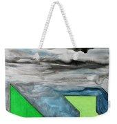 La Notte Sopra La Citta Verde - Part II Weekender Tote Bag