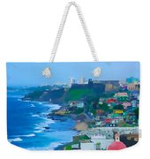 La Perla In Old San Juan Weekender Tote Bag