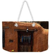 La Puerta Marron Vieja - The Old Brown Door Weekender Tote Bag