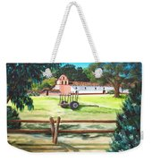 La Purisima With Fence Weekender Tote Bag