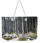 La Push Beach Trees Weekender Tote Bag