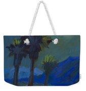 La Quinta Cove And Moonlight Weekender Tote Bag
