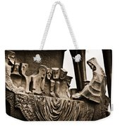 La Sagrada Familia Sculpture Weekender Tote Bag