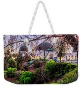L A Skyline With Griffith Observatory - Panorama Weekender Tote Bag