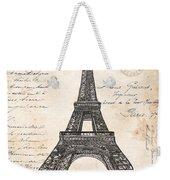La Tour Eiffel Weekender Tote Bag