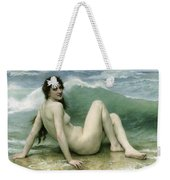 La Vague Weekender Tote Bag by William Adolphe Bouguereau