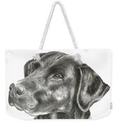 Lab Charcoal Drawing Weekender Tote Bag