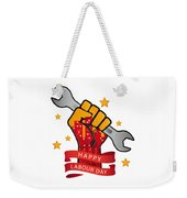 Labour Day  Weekender Tote Bag
