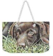 Labrador Puppy Weekender Tote Bag