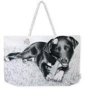 Labrador Samy Weekender Tote Bag