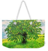 Laburnum Tree In Splendid Isolation Weekender Tote Bag
