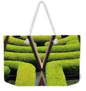 Labyrinth At The Getty Weekender Tote Bag