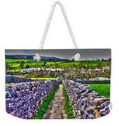 Labyrinth Of Grassington Weekender Tote Bag