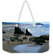 Labyrinths At Bandon Beach Weekender Tote Bag