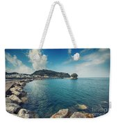 Lacco Ameno Harbour ,  Ischia Island Weekender Tote Bag