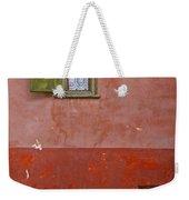 Lace Curtain Weekender Tote Bag