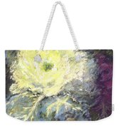 Lace Curtin Cabbage Weekender Tote Bag
