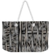 Lace Landscape Abstract Shimmering Lovely In The Dark Weekender Tote Bag