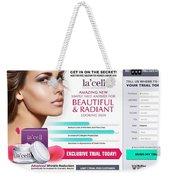 Lacell Weekender Tote Bag