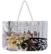 Lacey Curtain And Pastry Weekender Tote Bag
