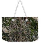 Lacey Leaf Weekender Tote Bag