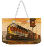 Lackawanna Fast Freight Weekender Tote Bag