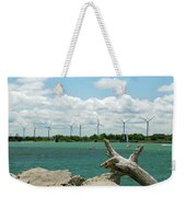 Lackawanna Wind Farm 5079 Weekender Tote Bag
