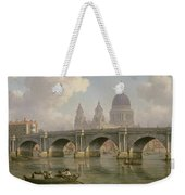 Blackfriars Bridge And St Paul's Cathedral Weekender Tote Bag