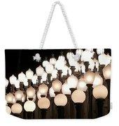 Lacma Lights 3 Weekender Tote Bag