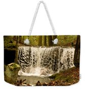 Lacy Waterfall Weekender Tote Bag