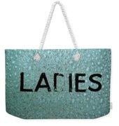 Ladies Weekender Tote Bag