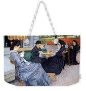 Ladies Sewing Weekender Tote Bag