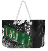 Lady And Lincoln Weekender Tote Bag
