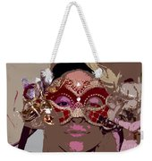 Lady Behind The Mask Weekender Tote Bag