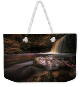Lady Falls Waterfall Country Weekender Tote Bag
